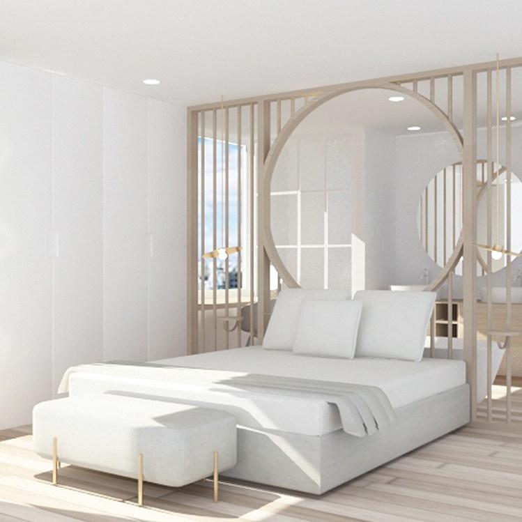 Proyecto de diseño de habitación de hotel para la cadena Eurostars